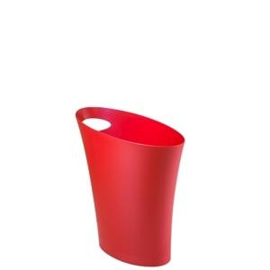 Koš na odpadky SKINNY červený