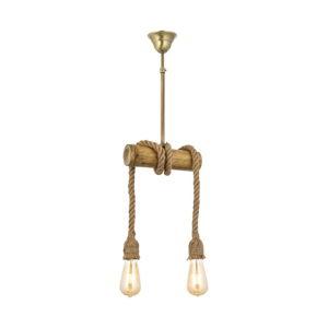 Závěsné svítidlo z habrového dřeva Bambu