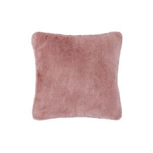 Růžový polštář Tiseco Home Studio Rabbit, 45 x 45 cm