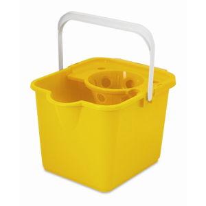 Žlutý kbelík na mop Addis Pail & Wringer
