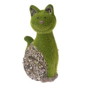 Zahradní dekorace ve tvaru kočky Dakls, výška 42 cm