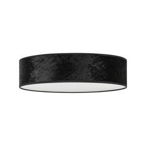 Černé stropní svítidlo Bulb Attack Quince, ⌀ 40 cm
