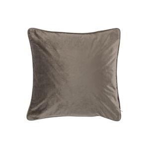 Tmavě béžový polštář Tiseco Home Studio Velvety, 45x45cm