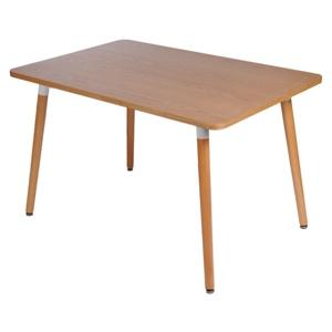 Stůl COPINE deska natural 120x80 cm