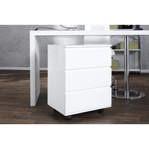 Malý kontejner pod psací stůl LUMINO bílý