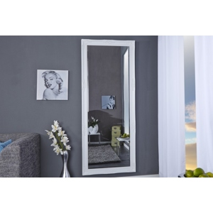 Závěsné zrcadlo RENESANS 185 bílé