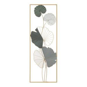 Kovová závěsná dekorace Mauro Ferretti Lotus B, 31 x 89,5 cm