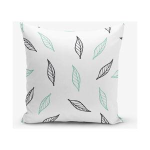 Povlak na polštář s příměsí bavlny Minimalist Cushion Covers White Tea, 45 x 45 cm