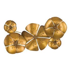 Nástěnná dekorace ve zlaté barvě Mauro Ferretti Goldie, 94x50cm
