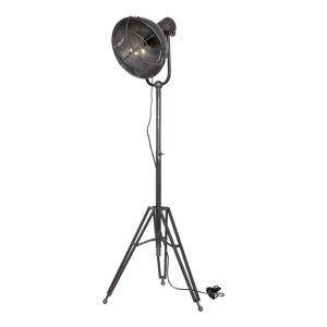 Šedá stojací lampa BePureHome Spotlight