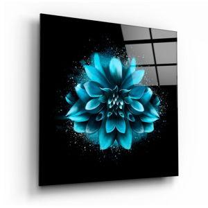 Skleněný obraz Insigne Blue Flower,40 x40cm