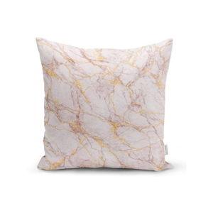 Povlak na polštář Minimalist Cushion Covers Soft Marble, 45 x 45 cm