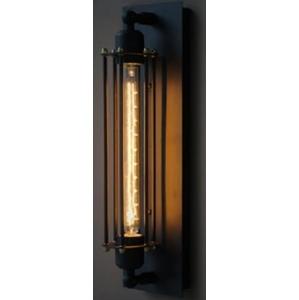 Lampa nástěnná AMSTERDAM LOFT 1 černé