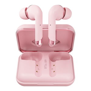 Růžová bezdrátová sluchátka Happy Plugs Air 1 Plus In-Ear