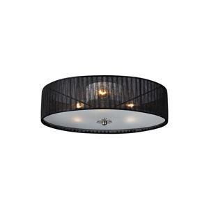 Černé stropní svítidlo Markslöjd Byske, ⌀ 40 cm