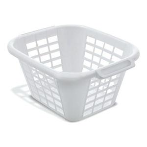 Bílý koš na prádlo Addis Square Laundry Basket, 24 l