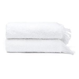Sada 2 bílých ručníků ze 100% bavlny Bonami, 50x90 cm
