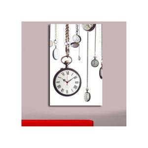 Obrazové hodiny Kapesní hodinky, 45x70 cm