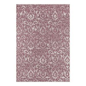 Fialovo-béžový venkovní koberec Bougari Hatta, 160 x 230 cm