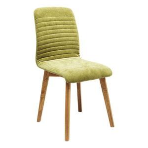 Sada 2 světle zelených jídelních židlí Kare Design Lara
