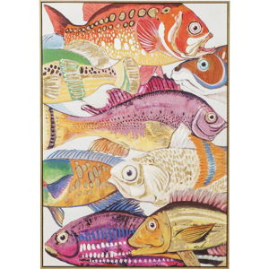 Obraz Kare Design Touched Fish Meeting I., 100 x 75 cm