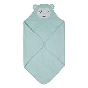 Modrý dětský ručník z froté bavlny Södahl Monkey