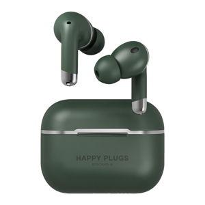 Bezdrátová zelená sluchátka Happy Plugs Air 1 ANC