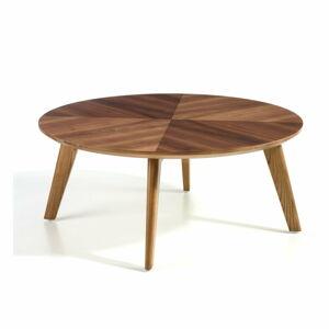 Konferenční stolek s deskou z ořechové dýhy Ángel Cerdá Vision
