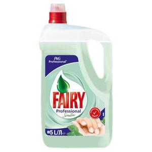 Tekutý mycí prostředek na nádobí, Jar Sensitive, 5l
