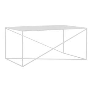 Bílý konferenční stolek Custom Form Memo, délka100cm