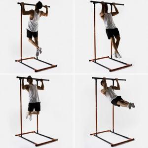 Hrazda na přitahování s návodem na cvičení InnovaGoods Fitness