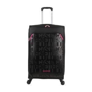 Černé zavazadlo na 4 kolečkách Lulucastagnette Calle, 71l