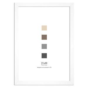 Bílý nástěnný rámeček Styler Ramka Japan AF, 21 x 30 cm