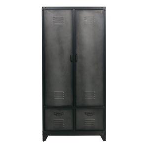 Černá konstrukce skříně vtwonen Vt-Wonen