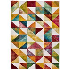 Koberec Universal Pandora Triangles, 80 x 150 cm