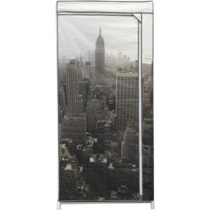 Textilní šatní skříň Compactor Empire State