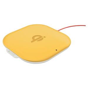 Žlutá bezdrátová nabíječka Leitz Cosy