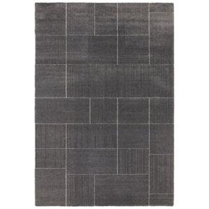 Tmavě šedý koberec Elle Decor Glow Castres, 160 x 230 cm