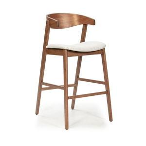 Barová židle s nohami ze dřeva kaučukovníku Marckeric Divo