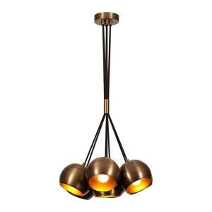 Závěsné svítidlo v bronzové barvě Opviq lights Sivani